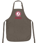 Official UA Alabama Grandfather Logo Apron Tan