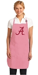 Deluxe University of Alabama Apron Pink - MADE in the USA!