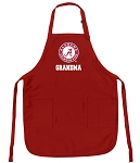Official Alabama Grandma Aprons