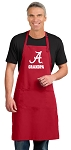 Alabama Grandpa Large Apron Red