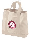 Alabama Tote Bags NATURAL CANVAS