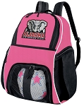 Girls Alabama Soccer Backpack or University of Alabama Volleyball Bag