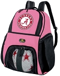 Girls Alabama Soccer Backpack or Alabama Volleyball Bag