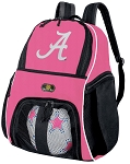 Girls UA University of Alabama Soccer Backpack or Alabama Crimson Tide Volleyball Bag