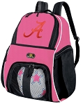 Girls University of Alabama Soccer Backpack or Alabama Volleyball Bag