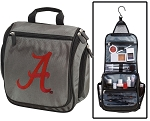 Alabama Toiletry Bag or University of Alabama Shaving Kit Organizer for Him Gray