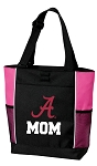 University of Alabama Mom Tote Bag Pink