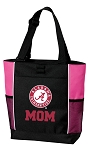 Alabama MOM Tote Bag Pink