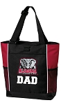 Alabama Dad Tote Bag UA DAD Gift Idea