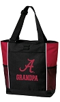 University of Alabama Grandpa Tote Bag Red