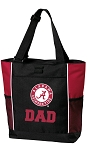 Alabama Dad Tote Bag Red