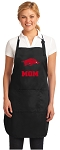 Official University of Arkansas Mom Apron Black