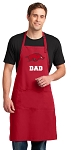 University of Arkansas Dad Large Apron Red