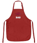 Official University of Arkansas Dad Aprons