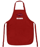 Official University of Arkansas Grandpa Aprons
