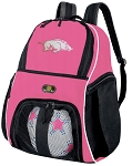 Girls Womens University of Arkansas Soccer Backpack or Arkansas Razorbacks Volleyball Bag