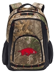 Arkansas Razorbacks RealTree Camo Backpack