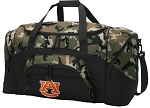 Official Auburn University Camo Duffel Bags