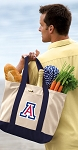 Arizona Wildcats Tote Bag Navy