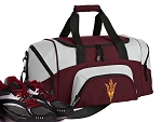 SMALL Arizona State Gym Bag ASU Duffle Maroon