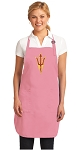 Deluxe Arizona State Apron Pink - MADE in the USA!