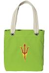 Arizona State Tote Bag RICH COTTON CANVAS Green