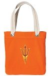 Arizona State Tote Bag RICH COTTON CANVAS Orange