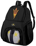 Arizona State Soccer Backpack or ASU Volleyball Bag For Boys or Girls