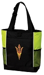 Arizona State Tote Bag COOL LIME