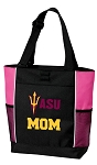 ASU Mom Tote Bag Pink
