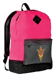 ASU Backpack HI VISIBILITY Arizona State CLASSIC STYLE For Her Girls Women