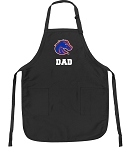 Official Boise State Dad Apron Black
