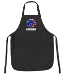 Official Boise State Grandma Apron Black