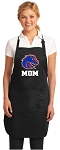 Official Boise State Mom Apron Black