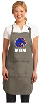 Official Boise State University Mom Apron Tan
