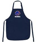 Official Boise State Grandma Aprons Navy