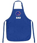Deluxe Boise State University Dad Apron Boise State Dad for Men or Women