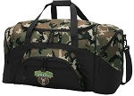 Official Baylor University Camo Duffel Bags