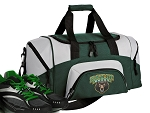 SMALL Baylor University Gym Bag Baylor Duffle Green