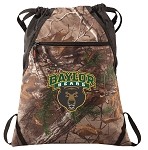 Baylor RealTree Camo Cinch Pack