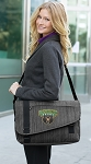 Baylor Messenger Laptop Bag Stylish Charcoal