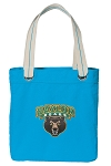 Baylor Tote Bag RICH COTTON CANVAS Turquoise