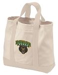 Baylor University Tote Bags NATURAL CANVAS