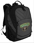 Baylor Deluxe Laptop Backpack Black
