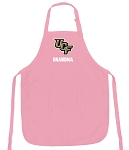 Deluxe University of Central Florida Grandma Apron Pink - MADE in the USA!