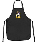 Official East Carolina Dad Apron Black