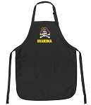 Official East Carolina Grandma Apron Black