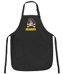 Official East Carolina Grandpa Apron Black