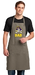 East Carolina Dad Large Apron Khaki