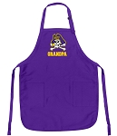 Deluxe East Carolina Grandpa Apron MADE in the USA!